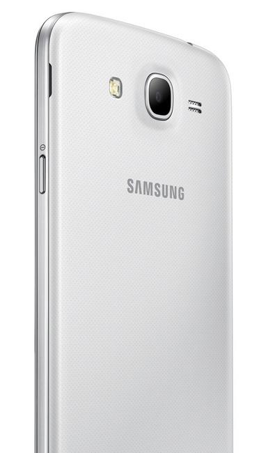 Samsung GALAXY Mega 5.8 Android Phablet back angle