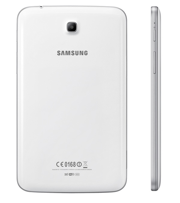 Samsung Galaxy Tab 3 7-inch mid-range Tablet back side
