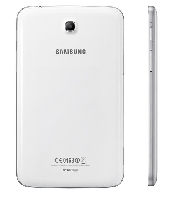 Samsung Galaxy Tab 3 7-inch mid-range Tablet back side