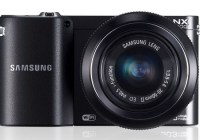 Samsung NX1100 Mirrorless Smart Camera front