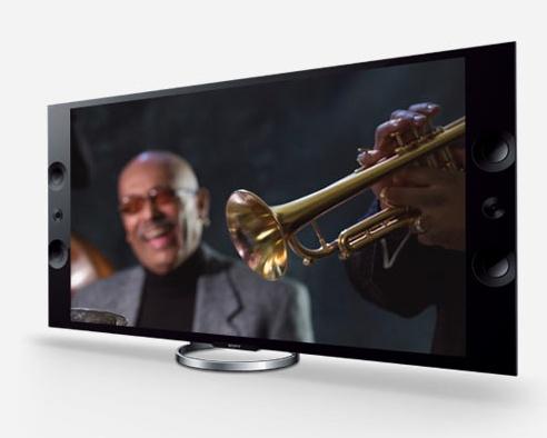 Sony BRAVIA XBR-55X900A and XBR-65X900A 4K Ultra HD LED TVs angle