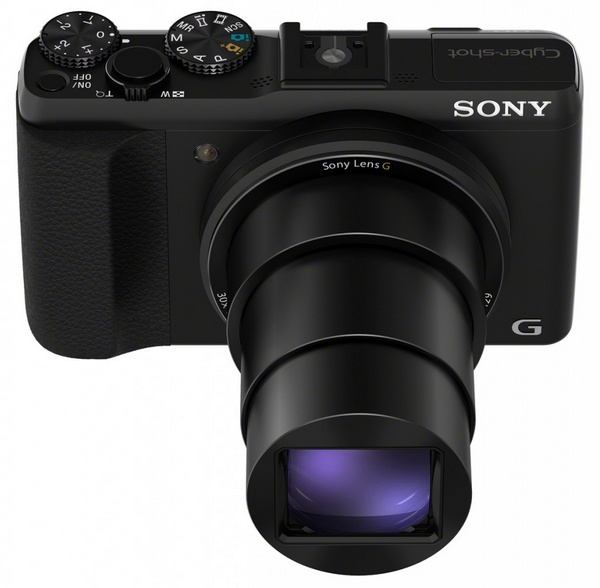 Sony Cyber-shot HX50V is the World's Smallest and Lightest 30x Zoom Camera top