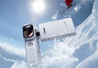 Sony Handycam HDR-GW66VE Rugged Pocket Full HD Camcorder white