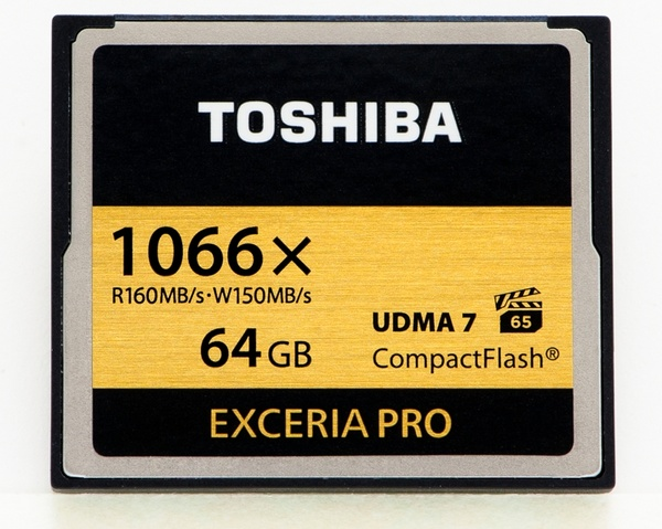 Toshiba EXCERIA PRO 1066X CompactFlash Memory Cards