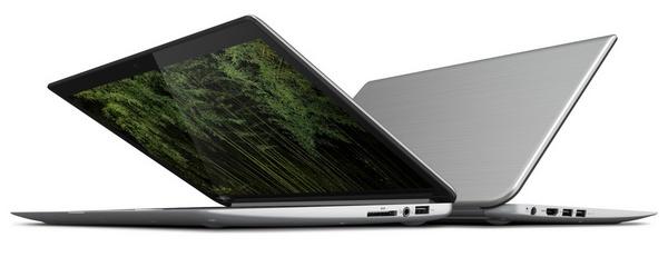 Toshiba KIRAbook Premium Ultrabook with 13.3-inch PixelPure angle