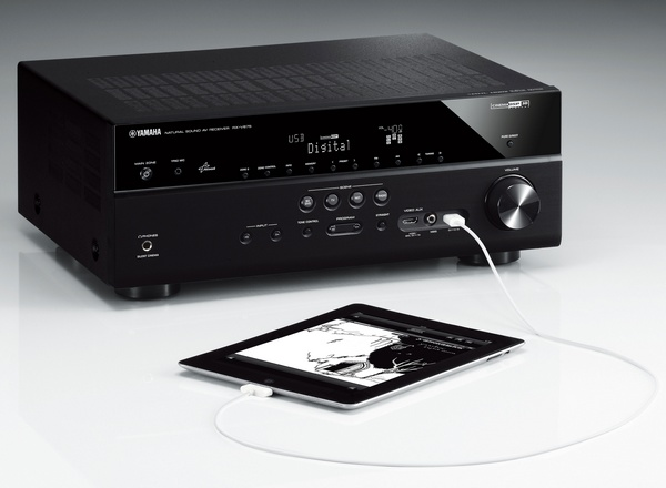Yamaha RX-V775WA, RX-V675 av receiver mhl airplay ipad connection