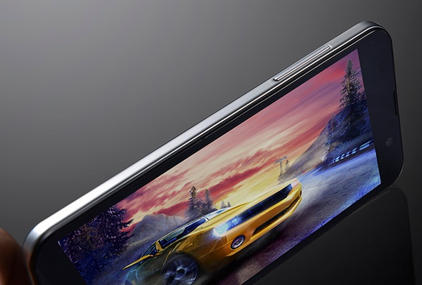 Zopo C2 5-inch Aliyun Smartphone side