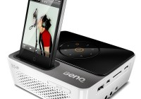 BenQ Joybee GP3 Mini Projector with iPhone Dock iphone