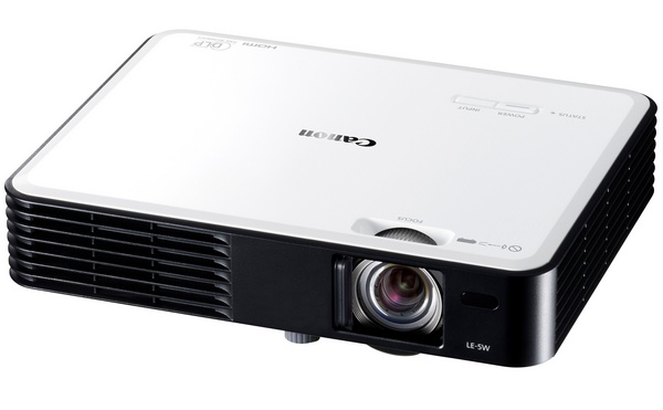 Canon LE-5W Ultra Portable Multimedia Projector white