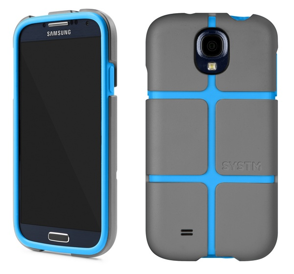 Incase SYSTM Chisel case galaxy s4 asphalt blue