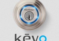 Kwikset Kevo Door Lock uses Smartphone as Key 1