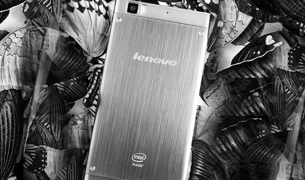 Lenovo IdeaPhone K900 Intel-powered Smartphone back