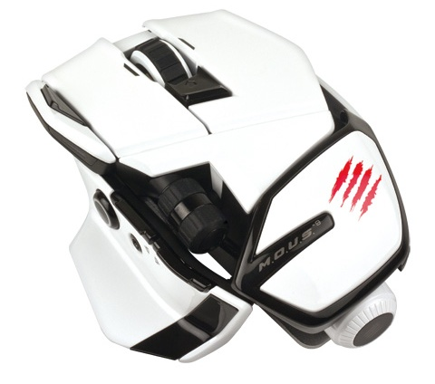 Mad Catz M.O.U.S.9 Wireless Mouse white