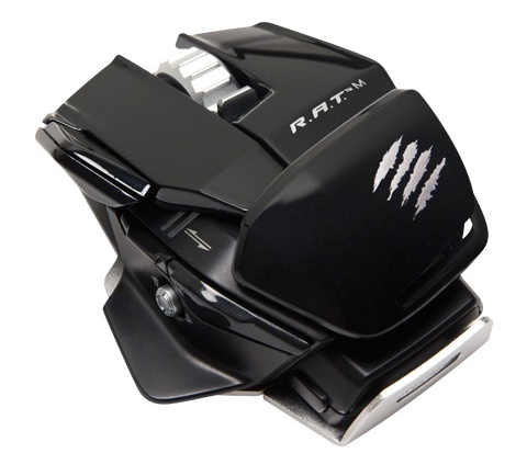 Mad Catz R.A.T.M Wireless Gaming Mouse gloss black
