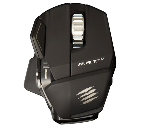 Mad Catz R.A.T.M Wireless Gaming Mouse matte black