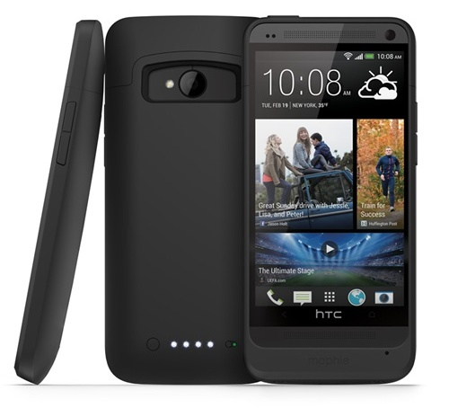 Mophie juice pack for HTC One black