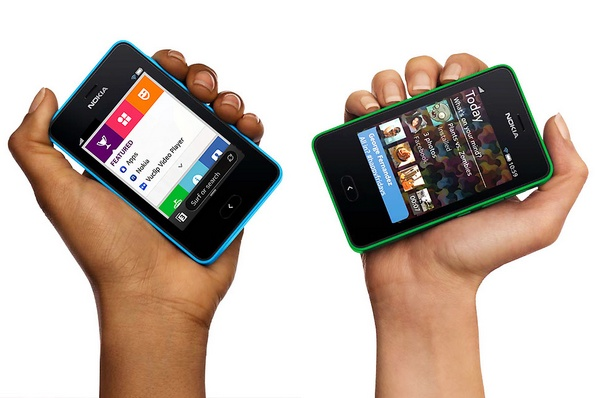Nokia Asha 501 Feature Phone runs on Asha Platform on hand