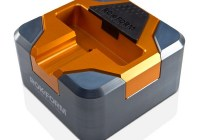 Rokform RokDock Stand for Galaxy S2 S3 S4 gun metal orange