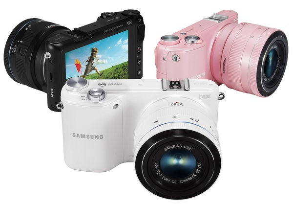 Samsung NX2000 SMART Mirrorless Camera wifi nfc color