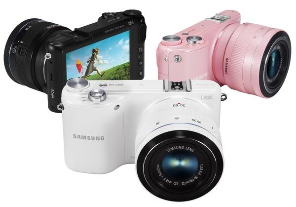 Samsung NX2000 SMART Mirrorless Camera wifi nfc color