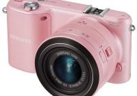 Samsung NX2000 SMART Mirrorless Camera wifi nfc pink