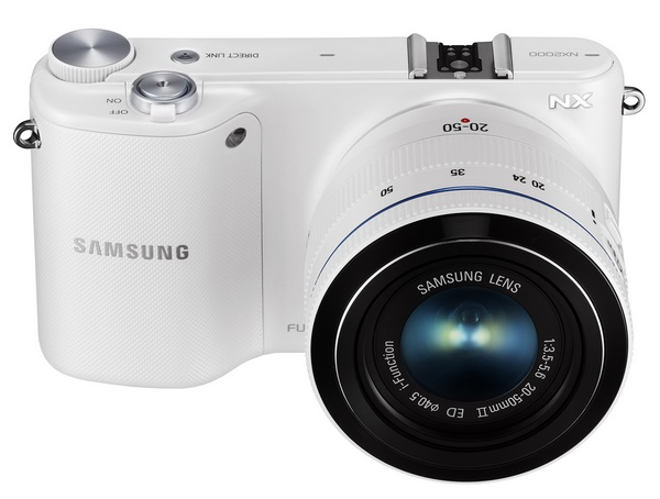 Samsung NX2000 SMART Mirrorless Camera wifi nfc white