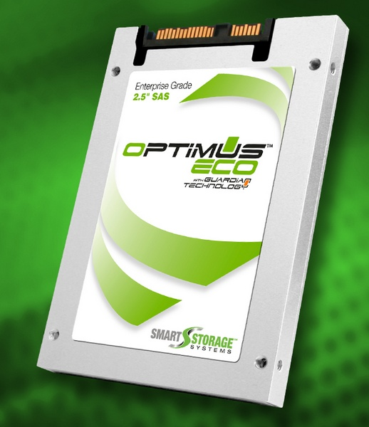 Smart Storage Optimus Eco SAS SSD uses 19nm MLC Flash