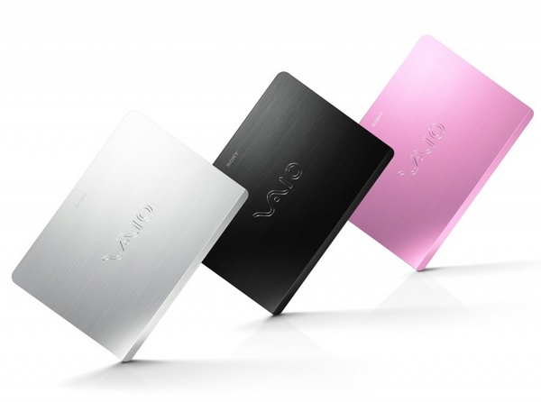 Sony VAIO Fit notebook colors