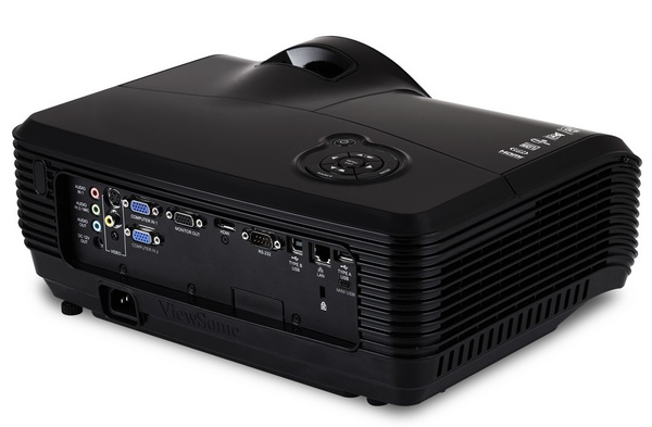 ViewSonic PJD8633ws and PJD8333s Ultra Short-Throw Projectors inputs