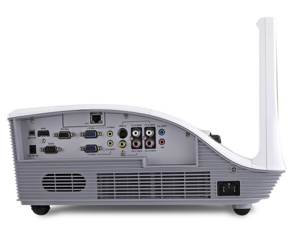 ViewSonic PJD8653ws and PJD8353s Projectors inputs