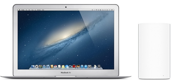 Apple AirPort Extreme and AirPort Time Capsule with macbook air