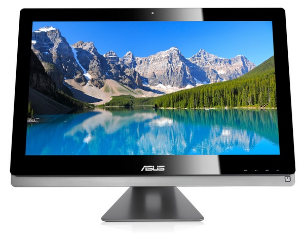Asus ET2702 All-in-one with 27-inch 2560 x 1440 Display front