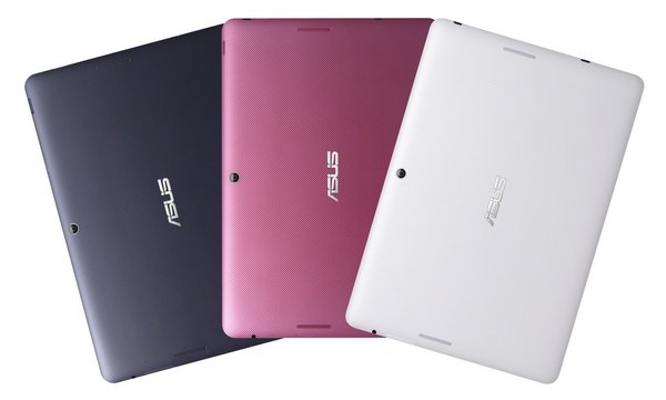 Asus MeMO Pad FHD 10 Android Tablet back colors