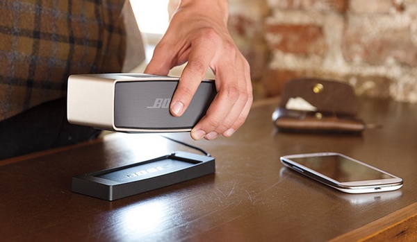 Bose SoundLink Mini Portable Bluetooth Speaker cradle