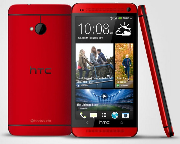 HTC One Glamour Red Version heading to the UK