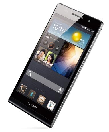 Huawei Ascend P6 ultra slim smartphone black
