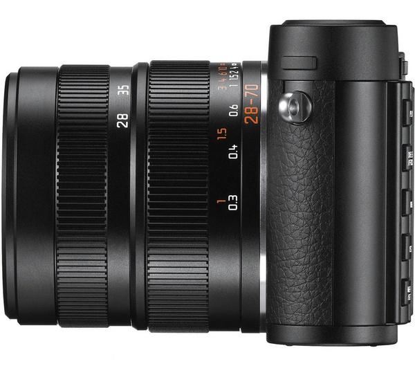 Leica X Vario APS-C Compact Camera side
