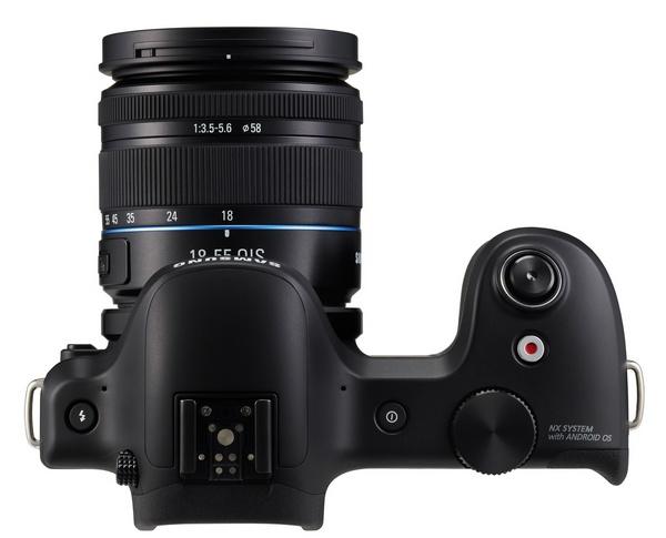 Samsung Galaxy NX Mirrorless Camera top