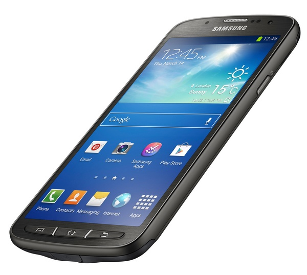 Samsung Galaxy S4 Active Rugged Smartphone angle