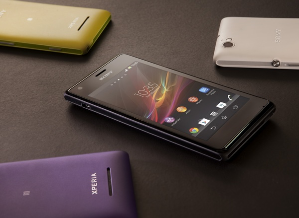 Sony Xperia M and Xperia M Dual Entry-level Smartphones group