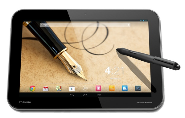 Toshiba Excite Write gets 2560x1600 Digitizer Display and TruPen