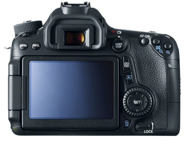 Canon EOS 70D DSLR with Dual Pixel CMOS AF back