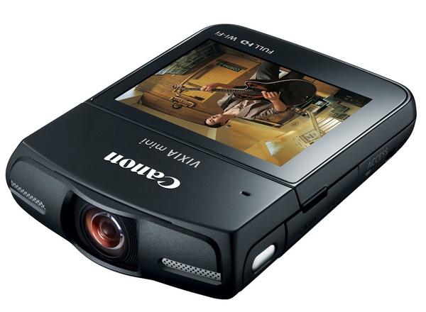 Canon VIXIA Mini Compact Personal Camcorder black