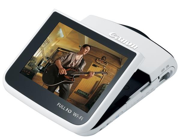 Canon VIXIA Mini Compact Personal Camcorder white