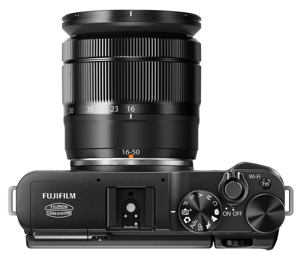 FujiFilm X-M1 Lightweight Mirrorless Camera with XC16-50MM