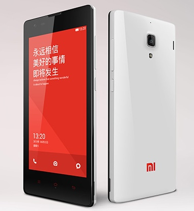 Xiaomi Hongmi (Red Rice) 4.7-inch Quad-core Smartphone white