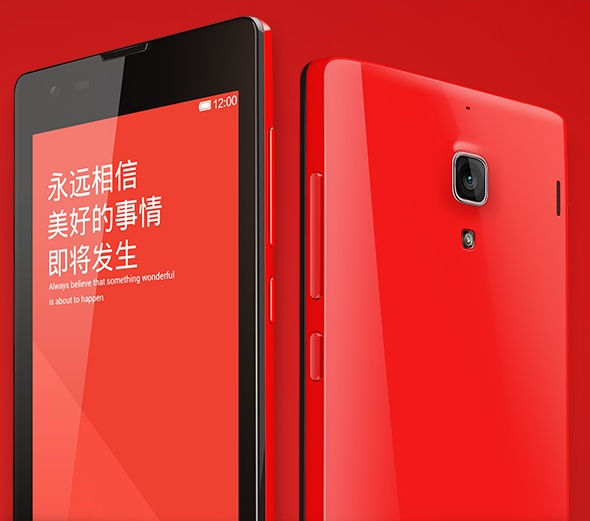 Xiaomi Hongmi (Red Rice) 4.7-inch Quad-core Smartphone