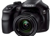 Sony Alpha A3000 DSLR-Style Mirrorless Camera angle
