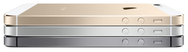 Apple iPhone 5S side colors