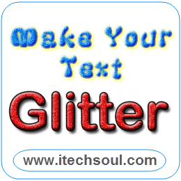 Make your Text Glitter